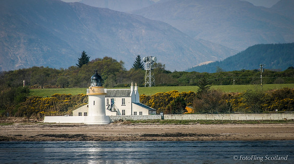 Corran Lighthouse & Lodge, Loch Linnhe