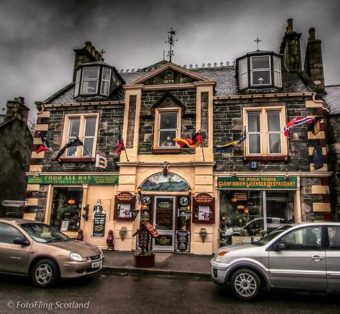 Glenfiddich Restaurant, Dufftown