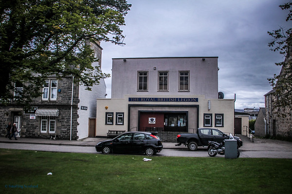 Former Cinema Grantown on Spey