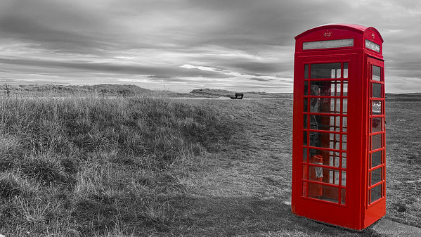 Phone Box in Isolation