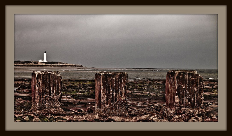 Lossiemouth West Beach and Lighthouse