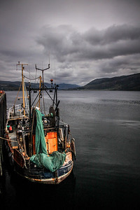 Fishing Boat in Ullapool Harbour