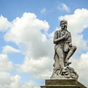 Statue - Robert Burns - Twon Centre, Dumfries 1877