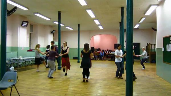 Céilidh in Edinburgh  -  yes we danced a Ceilidh in Scotland.