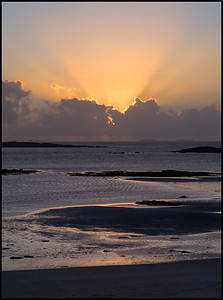 Sunset, North Uist