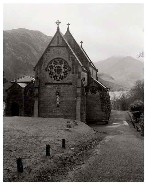 St Mary and St Finnan RC Church at Glenfinnan