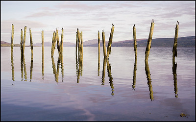 Salen Old Pier, Mull