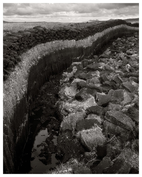 Peat Cut, North Uist