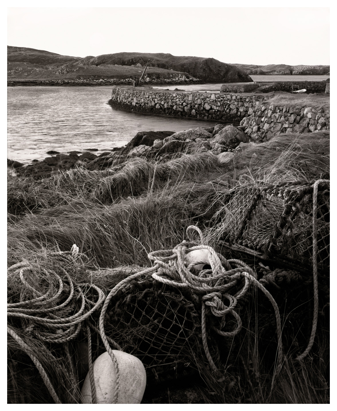 Harbour and Creels, Abandoned, South Harris