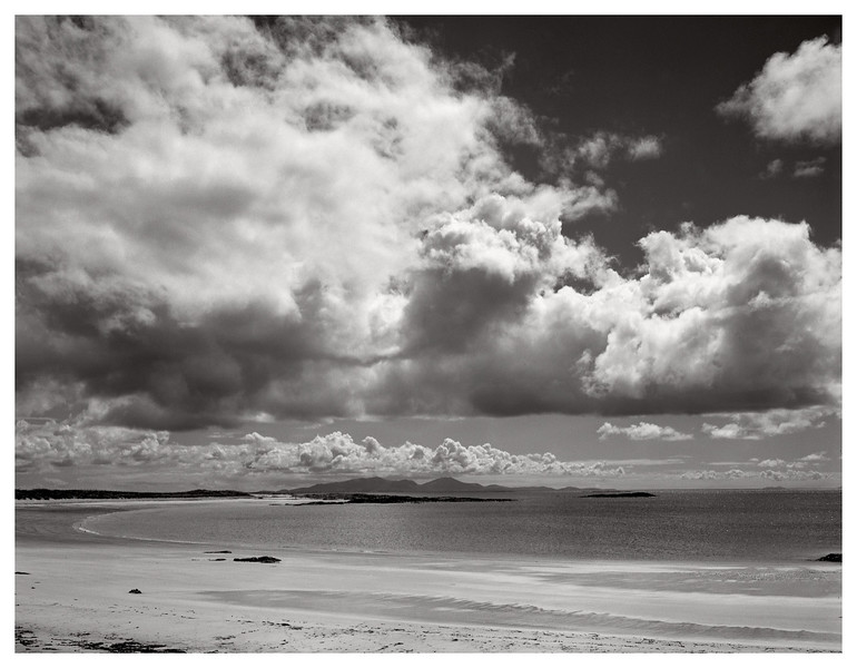 Traigh Lar and the South Uist Hills