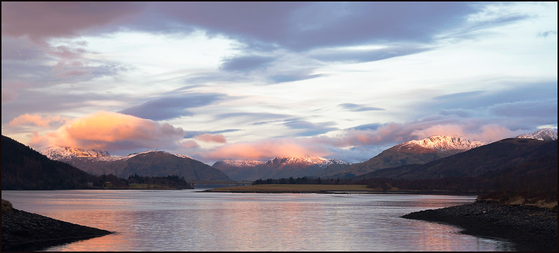 Sunrise Pastels, Ballachulish Bridge
