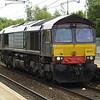 66421 passes Holytown on a Kingmoor - Coatbridge move on 20th June 2013