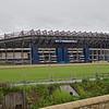 The Murrayfield Rugby stadion in Edinburgh