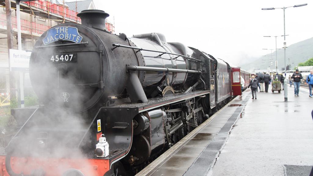 Scotland day-12 Jacobite Steam Traim