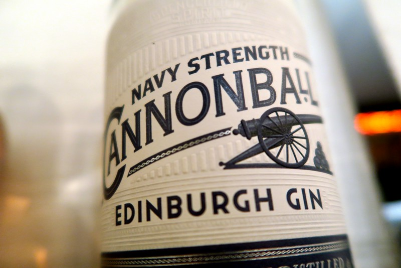 Cannonball Navy Strength Edinburgh Gin