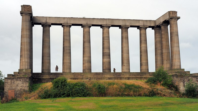 A shot from Calton Hill in Edinburgh, Scotland