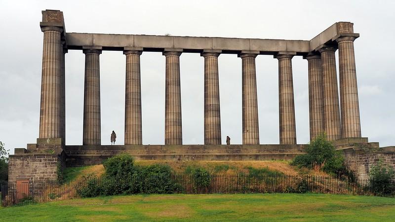 A shot from Calton Hill in Edinburgh, Scotland