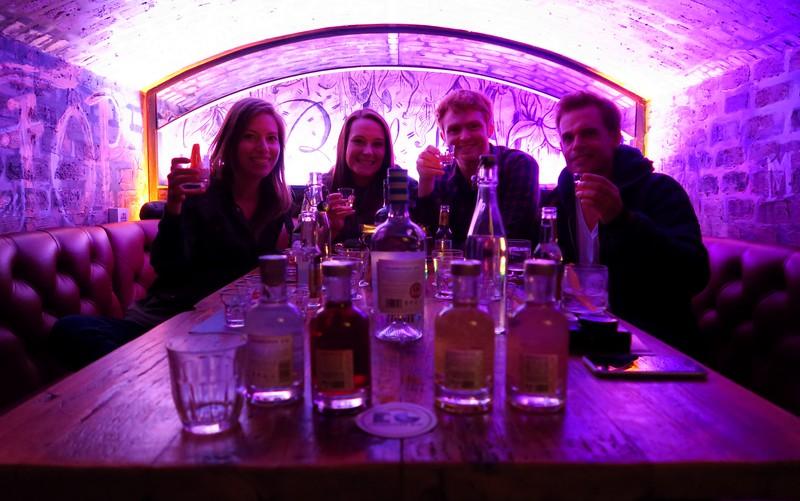 Gin tasting tour with Edinburgh Gin Distillery
