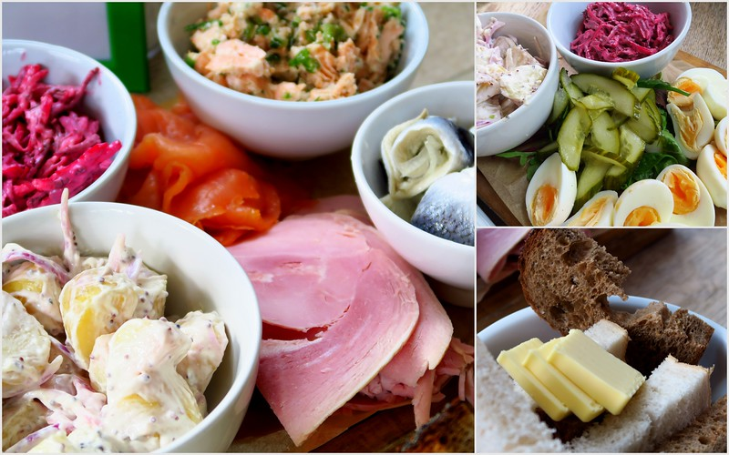 A Swedish inspired lunch at Hemma in Edinburgh, Scotland.