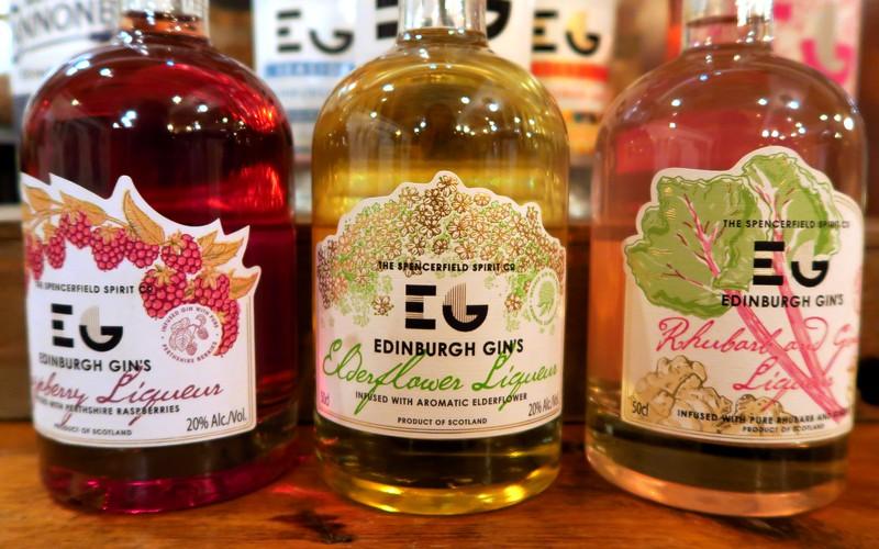 Edinburgh Gin Liqueur Flavours