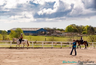 Scotland Cowboy Dressage Clinic