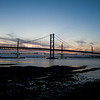Sunset over South Queensferry
