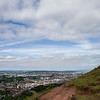 Headed up Arthur's Seat