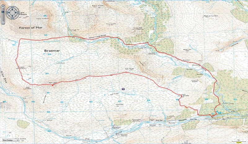 Our gruelling hike to Sgor Mor out of the Linn of Dee