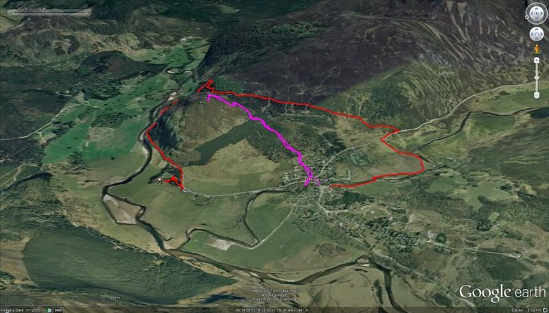 The loop in red