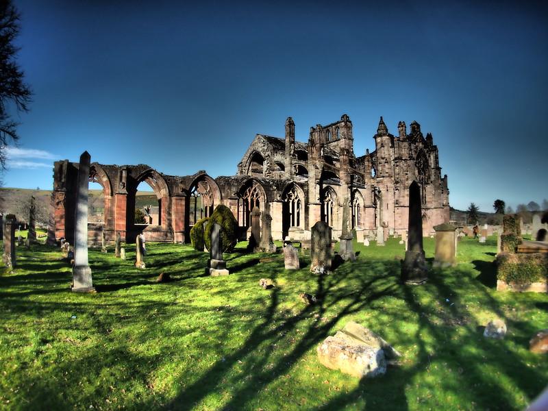 Melrose Abbey, Melrose, Scotland