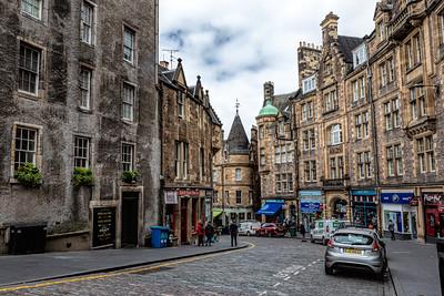 Cockburn Street, Old Town Edinburgh