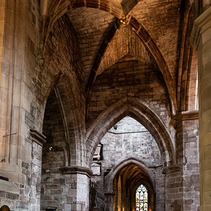 Archway in St Giles' Cathedral, also known as the High Kirk of Edinburgh