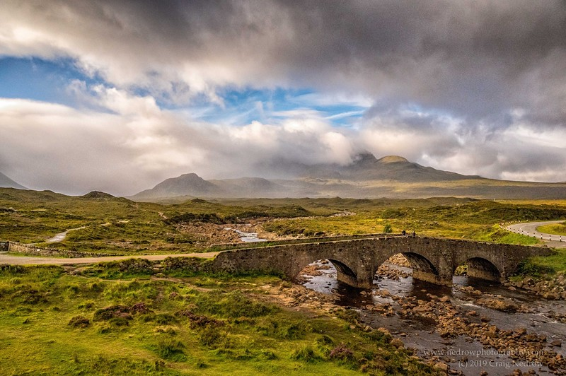 Isle of Skye,  Sligachan Old Bridge