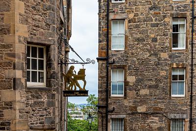 The Writers' Museum, Edinburgh Scotland