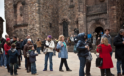Edinburgh Castle - More Long Lines