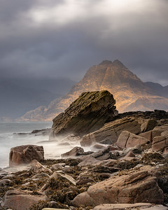 Elgol beach is well known to the photographic community