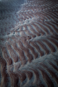 The winds are strong and many beaches feature dramatic ripples in the sand