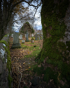 And old churches with centuries old grave yards are a frequent find