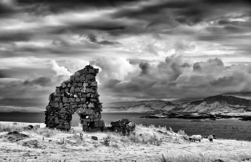 Iona Abbey ruins