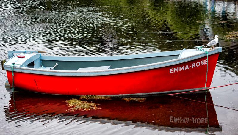Tobermory boat