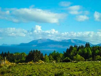 Isle of Arran from Glenahuil, Scotland