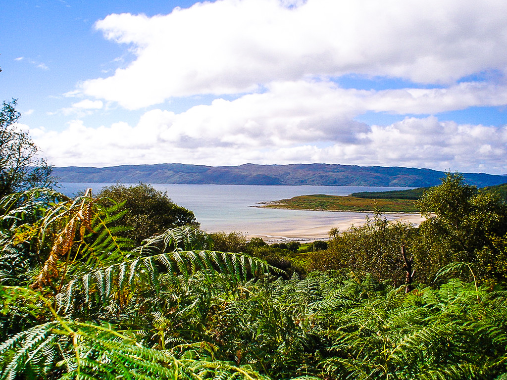 Kilbride Bay on Loch Fyne, Scotland