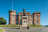 The inverness Castle in Inverness, Scotland, United Kingdom, Europe.