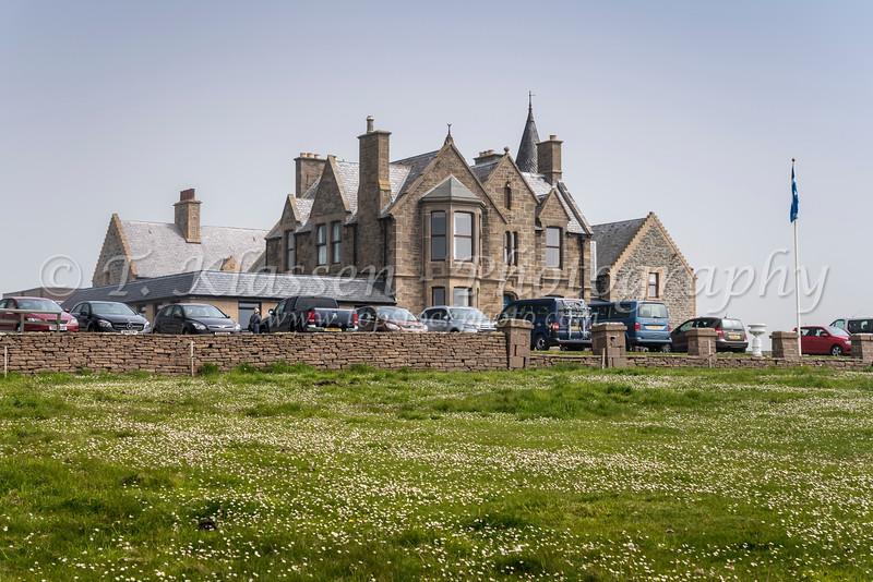 The Sumburgh Hotel at Sumburgh Head, Shetland Islands, United Kingdom, Europe.