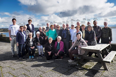Our Best of Ireland Road Scholar Group Photo  - Names Included