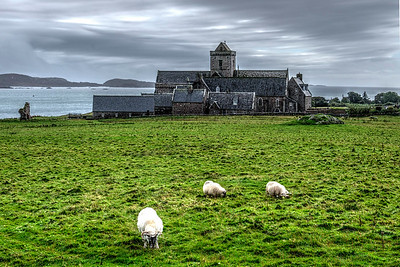 Scenic Iona Abbey