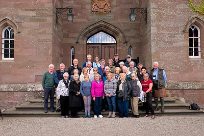 Scotland Road Scholar Group Picture - Sept 11, 2016 - Scone Palace