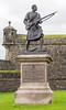 Highlander statue
