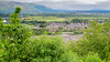 The little town below Stirling Castle