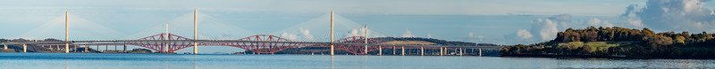 Firth of Forth Bridges Panorama ©2018 Mark Forman Productions, Corp.